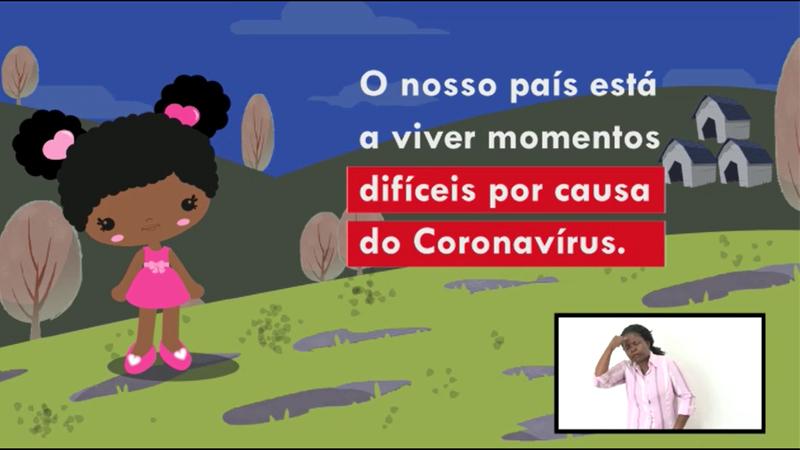 Crianças e combate ao COVID